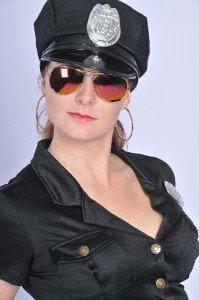 striptease politievrouw