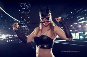 striptease Catwoman